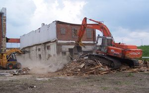 Demolition in Oklahoma City, OK from Arbor Transport & Construction