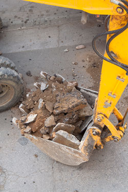 Demolition service in Oklahoma City