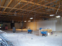 Commercial interior demolition in Norman, OK