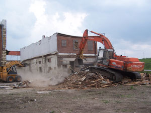 Demolition in Norman, OK and Oklahoma City from Arbor Transport & Construction Inc.