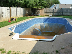 Pool removal in Oklahoma City, OK and Norman, OK